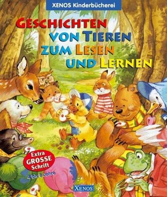 Geschichten von Tieren zum Lesen und Lernen