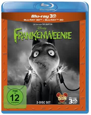 FRANKENWEENIE (2D & 3D BLU-RAY