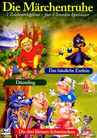 Die Märchentruhe - Das hässliche Entlein / Däumling / Die drei kleinen Schweinchen