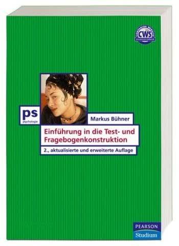 Einführung In Die Test- Und Fragebogenkonstruktion; Studium Psychologie
