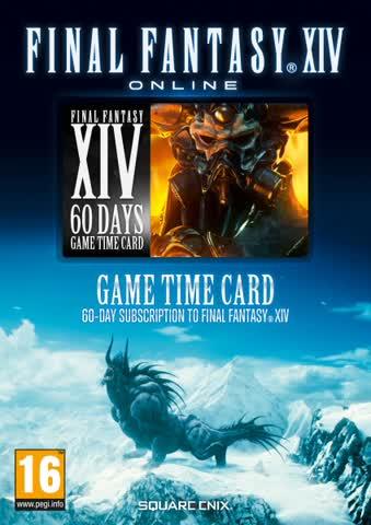 Final Fantasy XIV - A Realm Reborn Pre-Paid Card - [AT-PEGI]