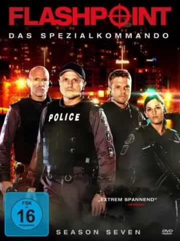 Flashpoint - Das Spezialkommando - Season 7 [4 DVDs]