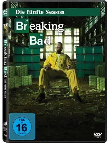 Breaking Bad - Die fünfte Season [3 DVDs/ Episoden 1-8)
