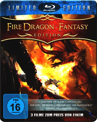 The Fire Dragon Fantasy Edition - Metal-Pack [Blu-ray] [Limited Edition]