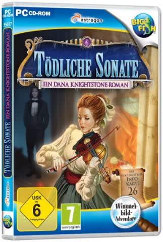 Tödliche Sonate: Ein Dana Knightstone Roman