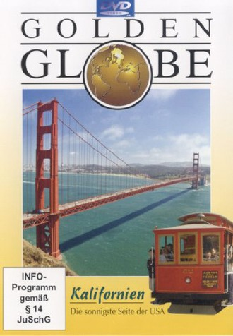 """Kalifornien mit Bonusfilm """"4 Corners"""" (Reihe: Golden Globe) 1 DVD, Länge: ca. 102 Min."""