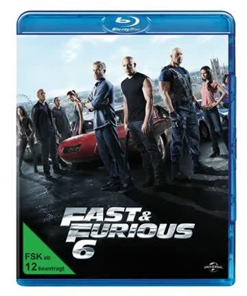 FAST & FURIOUS 6 - MOVIE [Blu-ray] [2013]