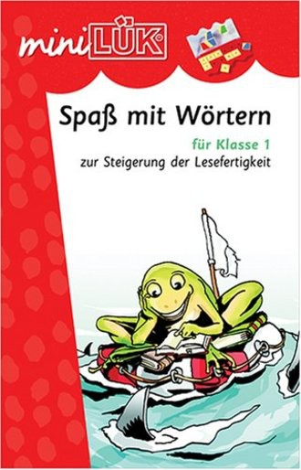 Mini LÜK Heft Spass m Wör tern 1