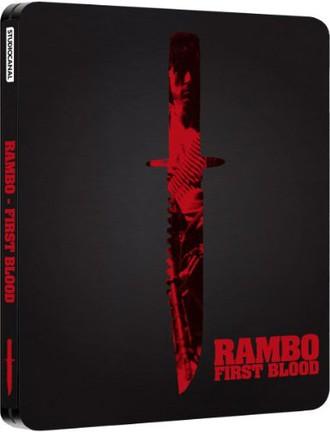 Rambo - First Blood (Limited Steelbook) (+ DVD) [Blu-ray] [UK Import]