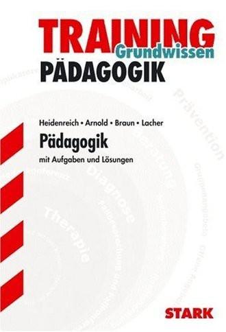 Training Grundwissen Pädagogik Fachoberschule; Mit Aufgaben Und Lösungen