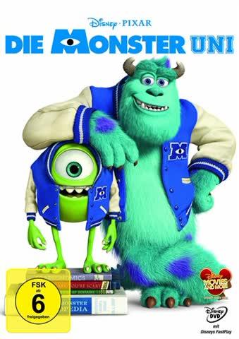 Disney's - Die Monster Uni (DVD)