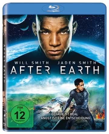 AFTER EARTH (BLU-RAY MASTERED [2013] [Region A & B & C]
