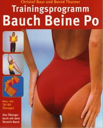Trainingsprogramm Bauch Beine Po.
