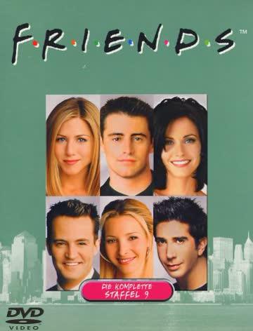 Friends - Die komplette Staffel 9 (4 DVDs)