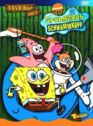 SpongeBob Schwammkopf - 3er Box, Vol. 02 [3 DVDs]