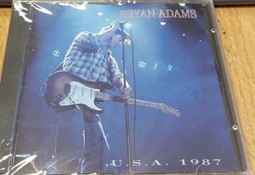 """Bryan Adams - U.S.A. 1987 ~ Recorded live at USA the """"Into the fire tour"""" 1987"""