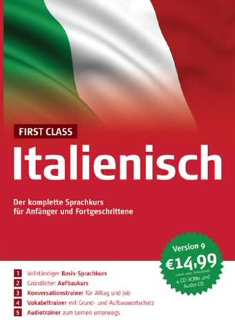 First Class Sprachkurs Italienisch 8.0 (DVD-Verpackung)