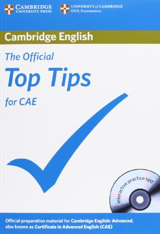 The Official Top Tips for CAE with CD-ROM 2nd Edition