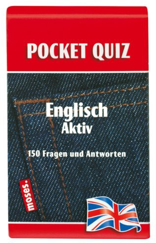 Pocket Quiz. Englisch Aktiv: 150 Fragen und Antworten auf Karten