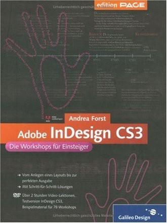 Adobe InDesign CS3 - Das Workshop-Buch