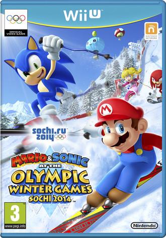 Mario & Sonic bei den olympischen Winterspielen in Sotschi 2014