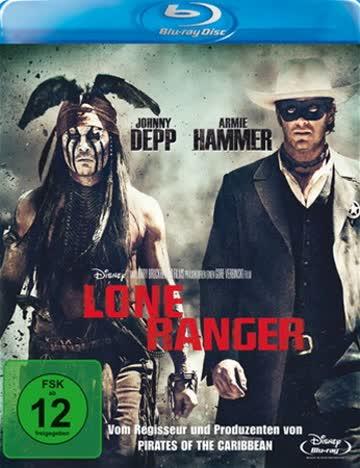 LONE RANGER (BLU-RAY) - VARIOU [2013] [Region A & B & C]