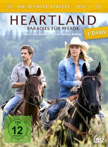 Heartland - Paradies für Pferde, Staffel 6.1 [3 DVDs]