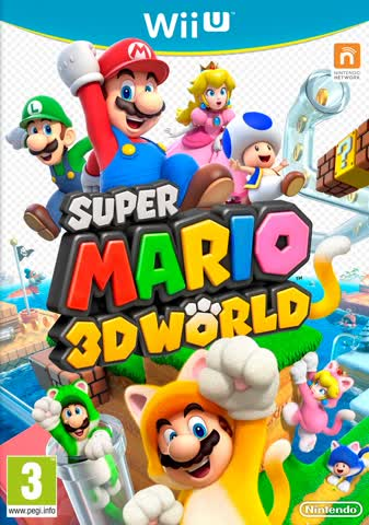 Wii U Super Mario 3D World (PEGI)