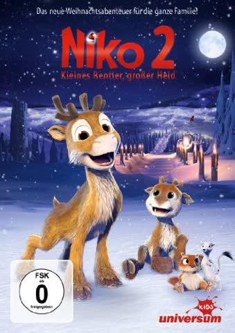 Niko 2 - Kleines Rentier, großer Held (DVD)
