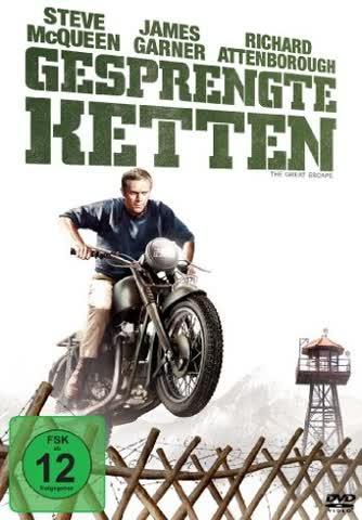 GESPRENGTE KETTEN - GESPRENGTE [DVD] [1963]