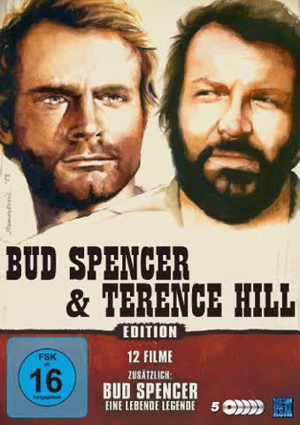 Bud Spencer & Terence Hill - 12 Filme Edition (DVD)