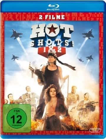 HOT SHOTS 1 & 2 (BLU-RAY) - VA