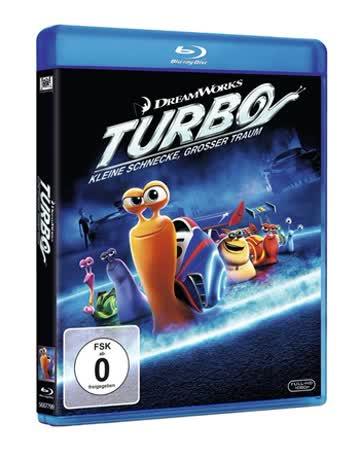 TURBO - Kleine Schnecke grosser Traum / Blu-Ray Disc