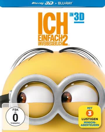 Ich-Einfach Unverbesserlich 2 3d [Blu-ray] [Import allemand]