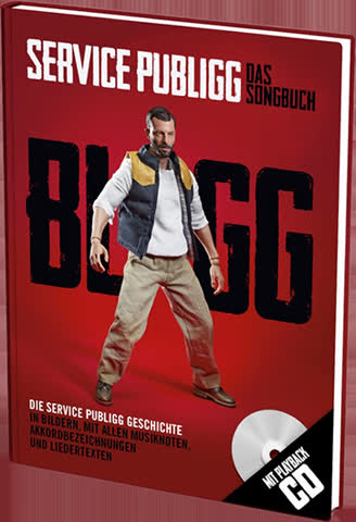 BLIGG Songbuch 3 - Service Publigg inkl. -Playback-CD