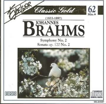 Royal Philharmonic London - Johannes Brahms: Symphony No.2 Sonata op 120 No.2