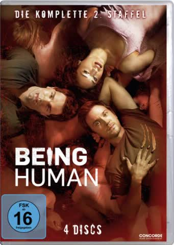 Being Human - Die komplette 2. Staffel [4 DVDs]