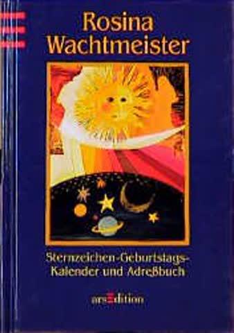 Sternzeichen - Geburtstags- Kalender und Adressbuch