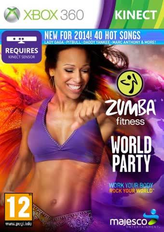 Zumba Fitness World Party KINECT