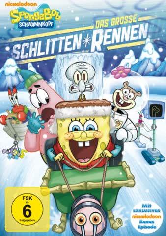 SpongeBob Schwammkopf - Das große Schlittenrennen