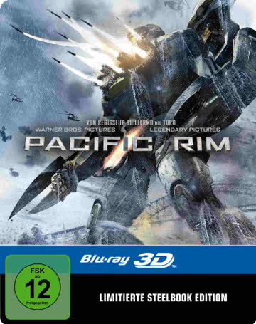 Pacific Rim 3D Steelbook (exklusiv bei Amazon.de) [3D Blu-ray] [Limited Edition]