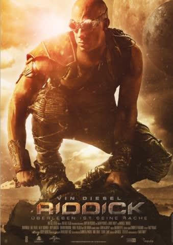 Riddick überleben ist sein Rache