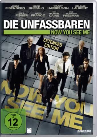 Die Unfassbaren - Now You See Me (Ext. Cut) (DVD)