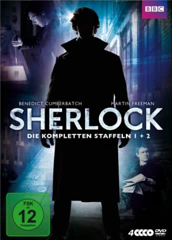 Sherlock - Season 1 & 2 (DVD)