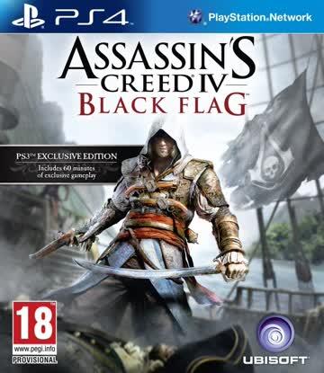 Assassin's Creed 4: Black Flag - Bonus Edition [AT - PEGI] - [PlayStation 4]