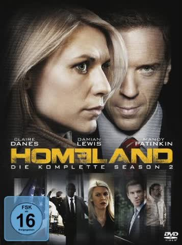 Homeland - Season 2 (DVD)