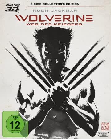 Wolverine: Weg des Kriegers (inkl. Extended Cut) [3D Blu-ray]