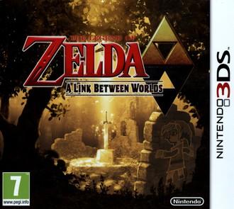 3DS Legend of Zelda: A Link Between Worlds (PEGI)