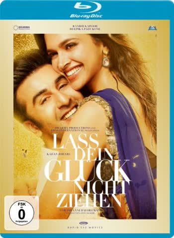 Lass dein Glück nicht ziehen / Yeh Jawaani Hai Deewani [Blu-ray]