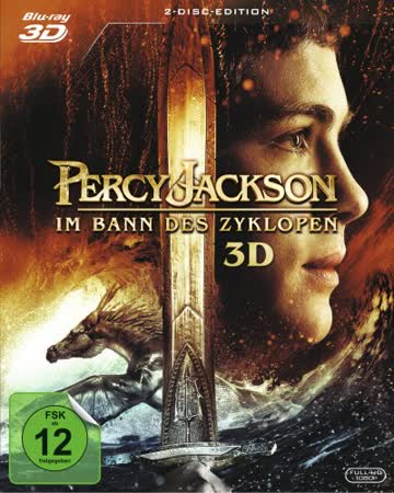 Percy Jackson - Im Bann des Zyklopen (+ BR) [3D Blu-ray]